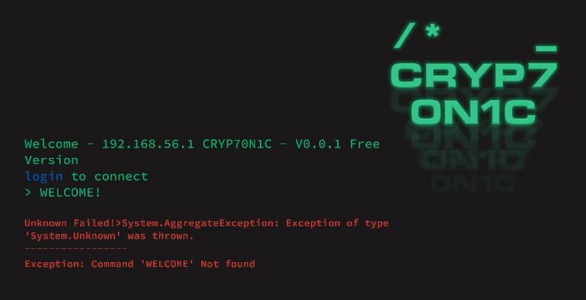 CRYP7ON1C