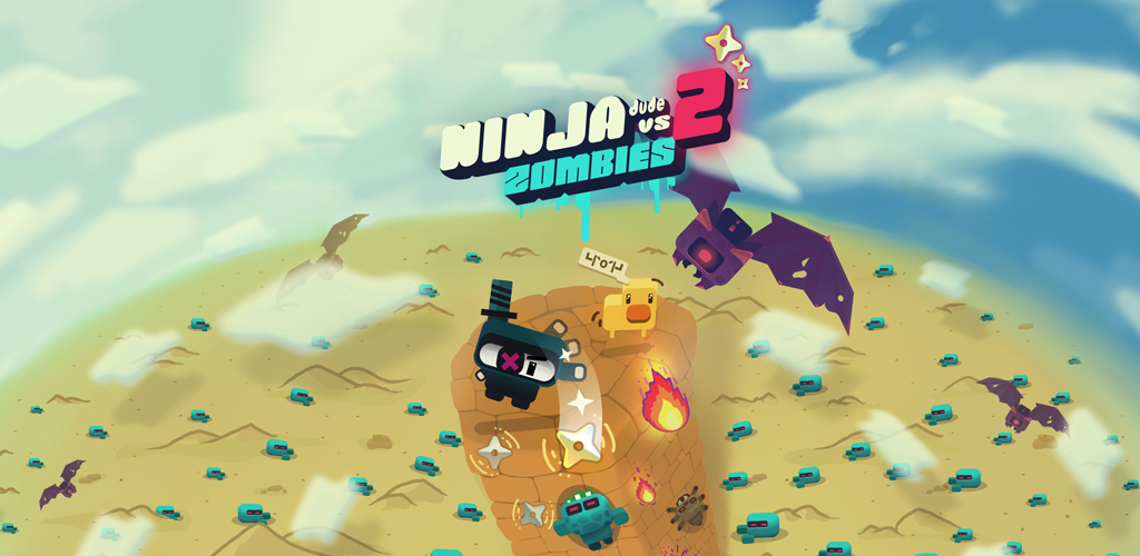 Ninja Dude vs Zombies 2 released on the AppStore and Google Play