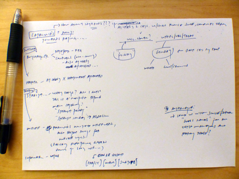 cogmind_build_classification_initial_notes