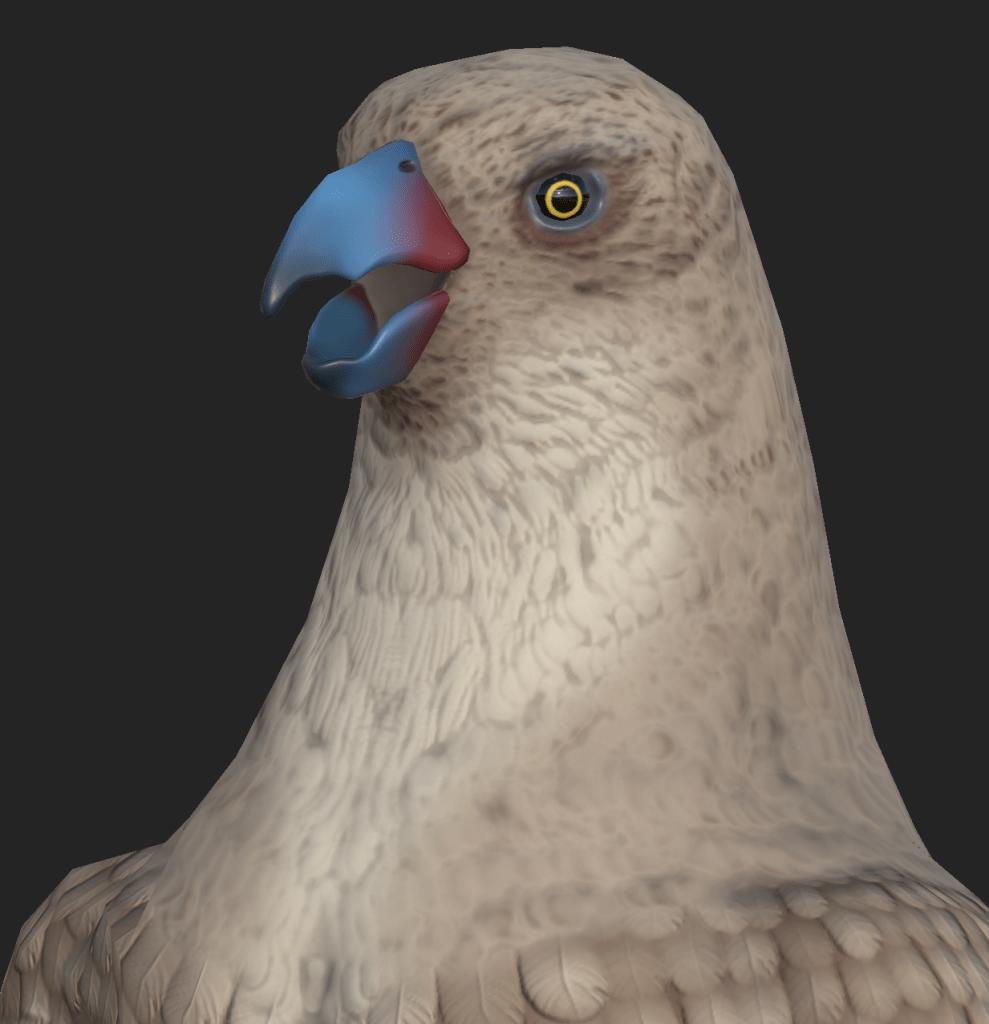 Close up of Parakaw model from Depths of Erendorn.