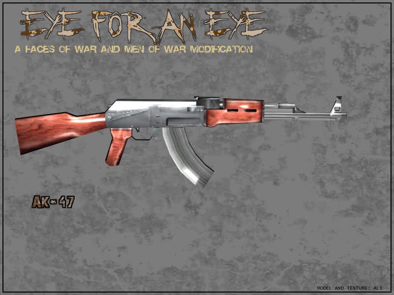 AK47, the mainstay of Iran Reserve Corps