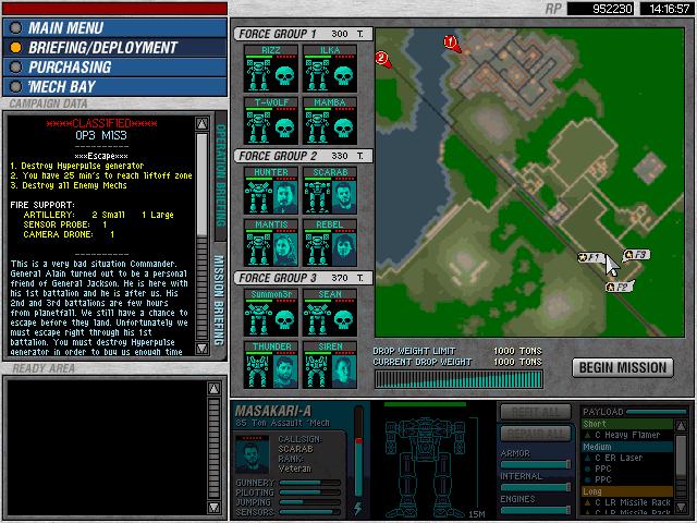 Operation 3 - Mission 16