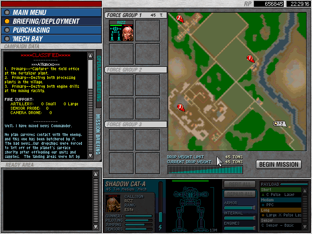 Operation 3 - Mission 9