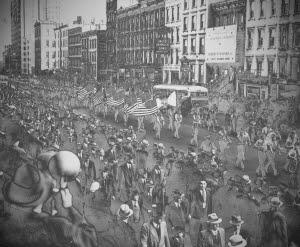 December 18th , 1934 Parade of american progressive league - (Taken from ADA - Atlantic Data Archive)