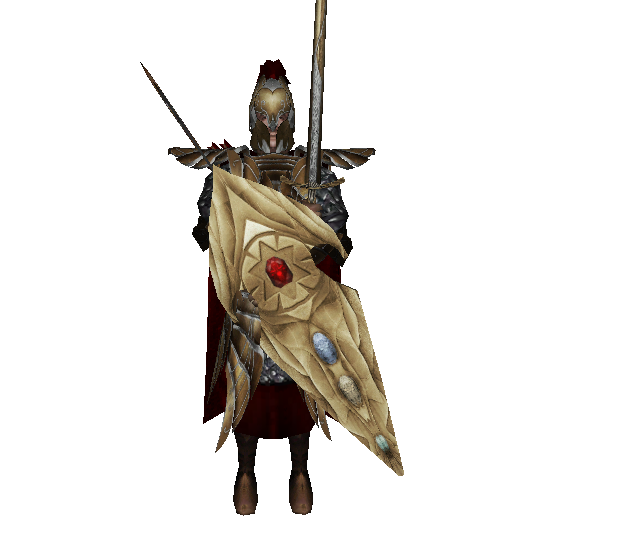 Champions of Himring, of the Noldorin Realms by Pandora, helmet mesh from the Silmarillion team