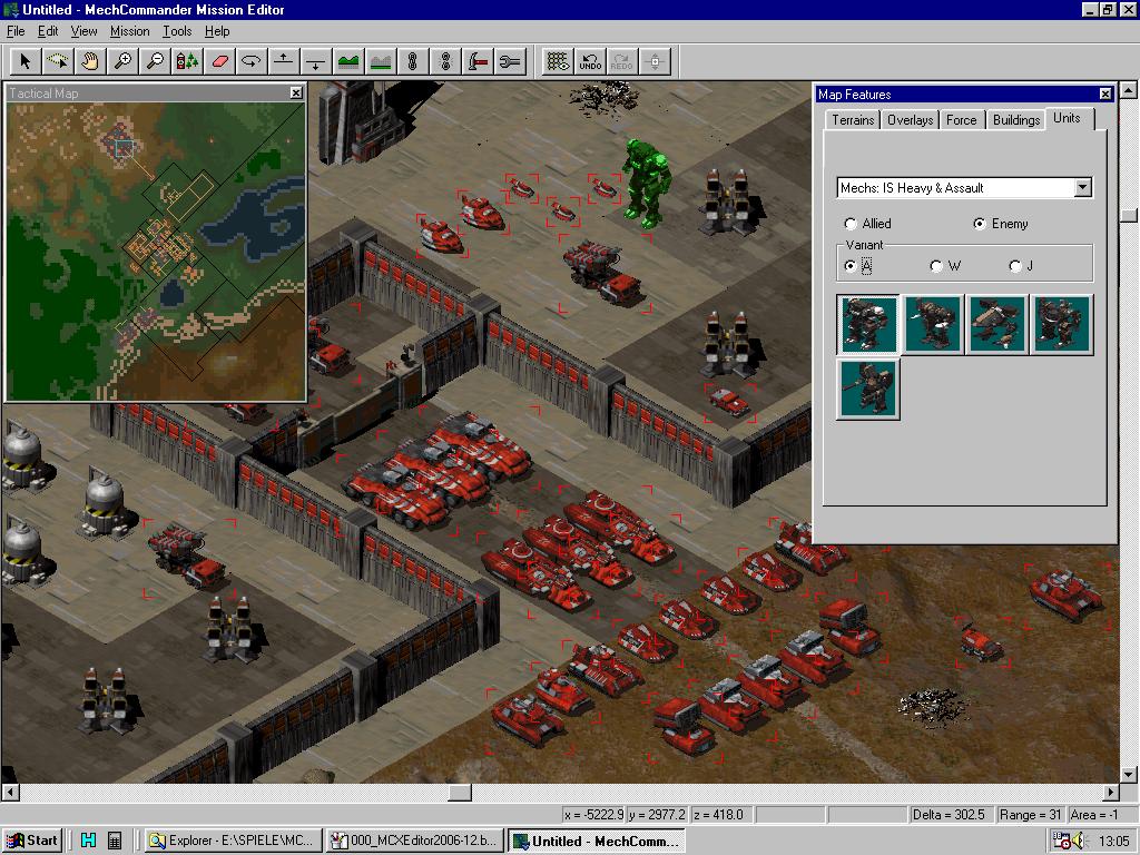Map Editor - Screenshot