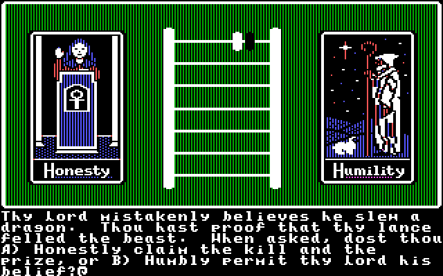 Apple ][ Mode - character generation
