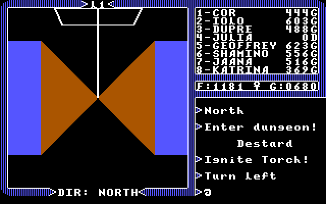 Apple ][ Mode - Dungeons