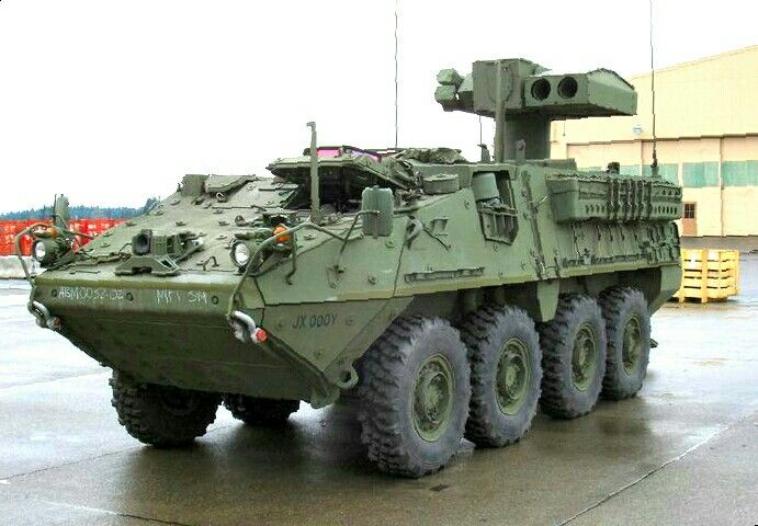 M1134 Stryker -Anti-Tank Guided Missile Vehicle (ATGM) with TOW anti-tank  guided missiles - US Army