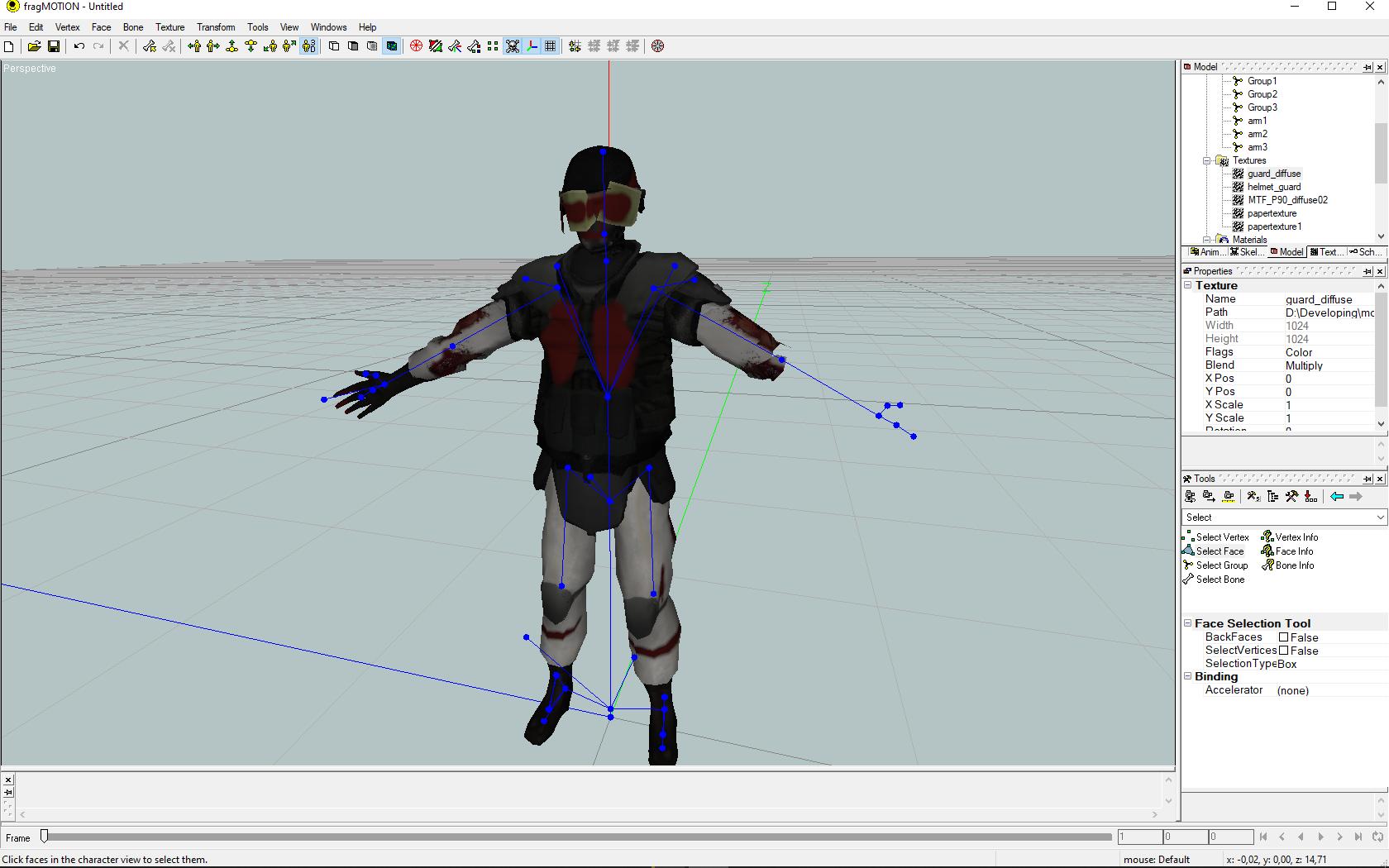New Corpse(Guard Model), he have massive bloodloss and broken visor of his helmet