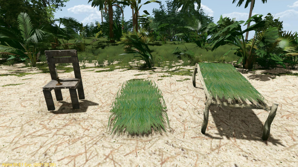 This image has an empty alt attribute; its file name is etp-grassbeds-stoolplank-candlestand.jpg