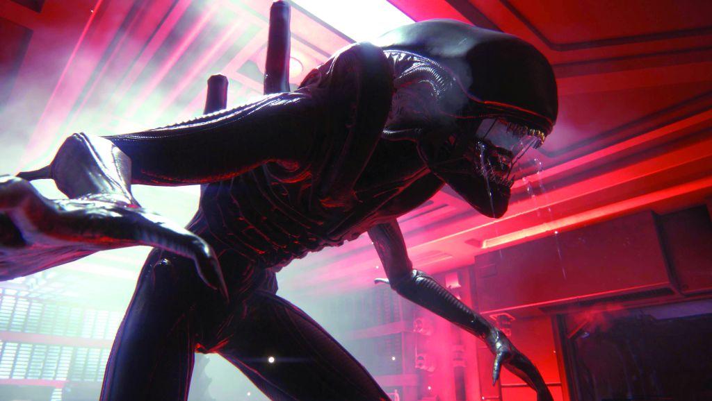 Alien Isolation Xenomorph
