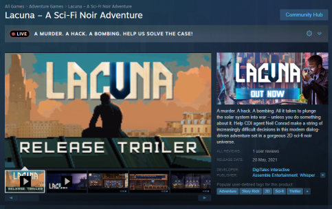 Lacuna on Steam