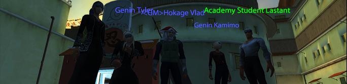 Academy Students & the Hokage