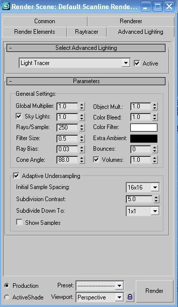 3D max Light Tracer rendering tutorial - Mod DB
