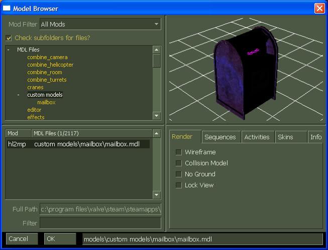 model browser