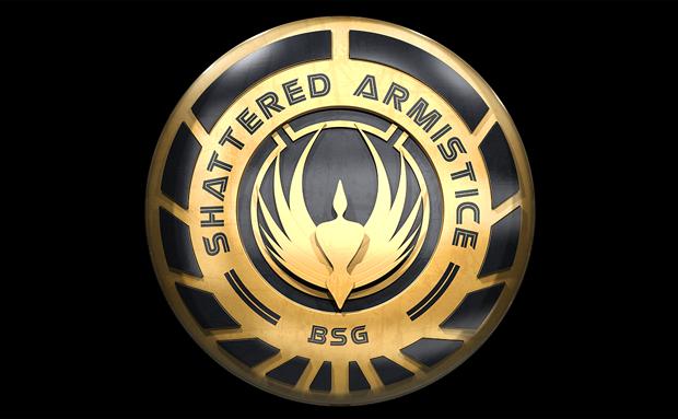 Shattered Armistice Logo