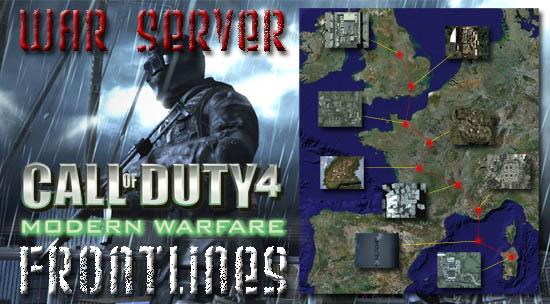 Frontlines War Server