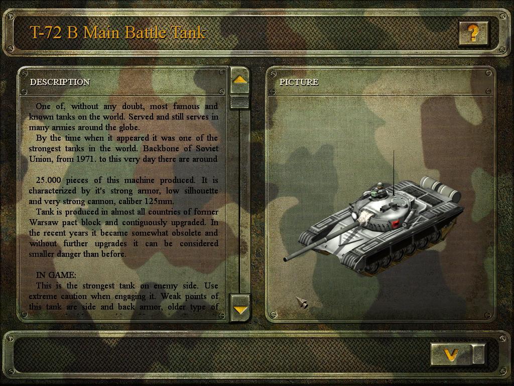 T-72 main battle tank image
