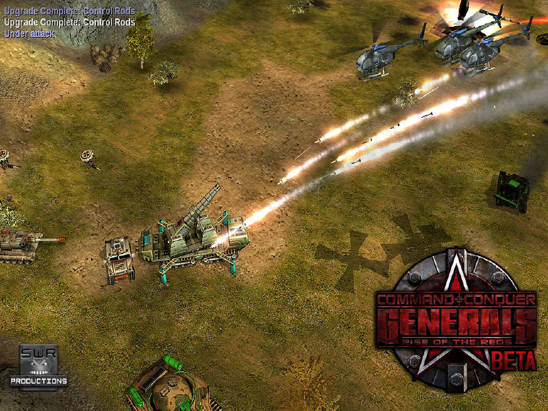 Разработчик. Rise of the Reds (Command & Conquer Generals Zero Hour).