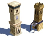 Carthaginian and Persian Towers