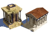 Persian and Roman Temples