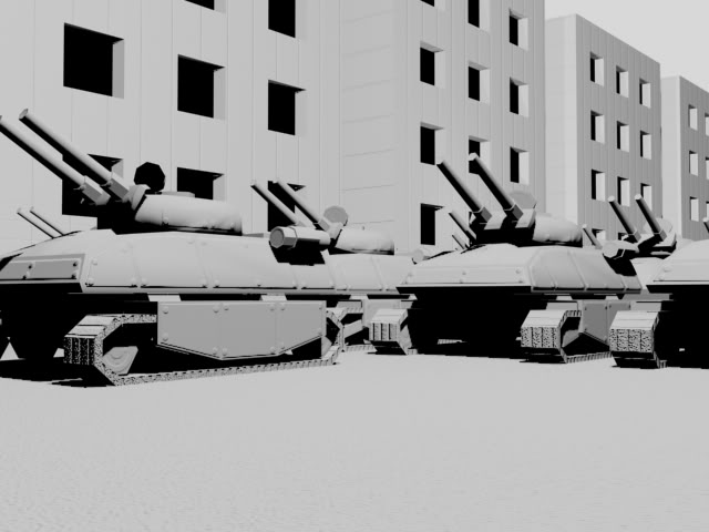 Soviet Anvil Tank