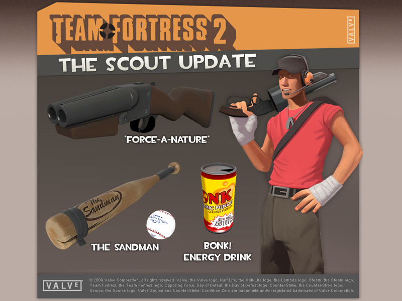 TF2 Scout Update, Plus More! news - Team Fortress 2 - Mod DB