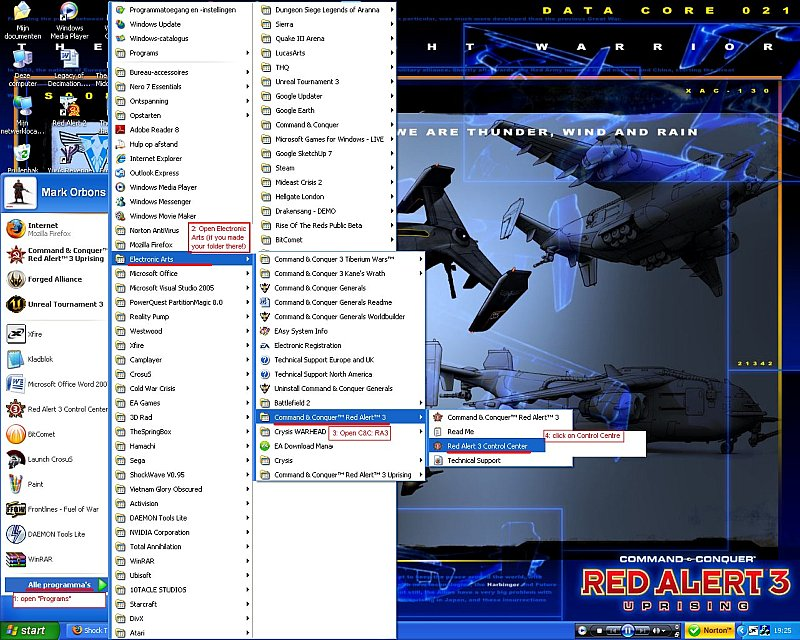 how to install language pack in red alert 3 uprising
