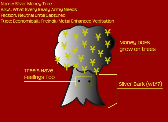 Silver Money Tree