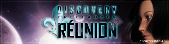 Discovery 4.85 Reunion Logo