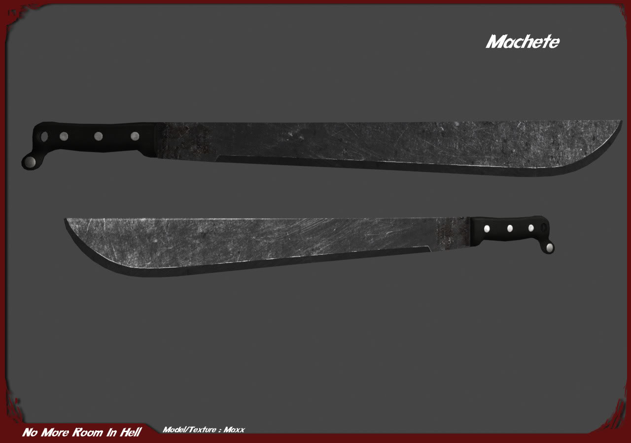 Machete Weapon By Maxx