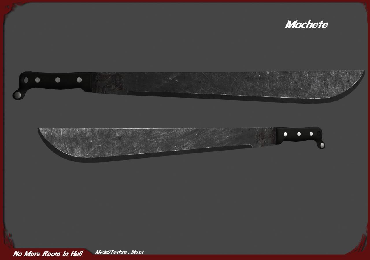 Machete Weapon By Maxx