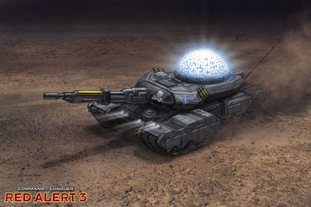 Never Existed? Made Possible. news - Red Alert 3: Shock ... Red Alert 3 Tank