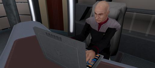IGM Mission: USS Enterprise Deck1 Bridge, Captains Ready Room