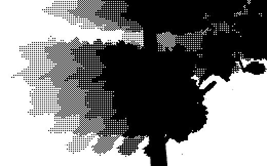 Stippled shadows
