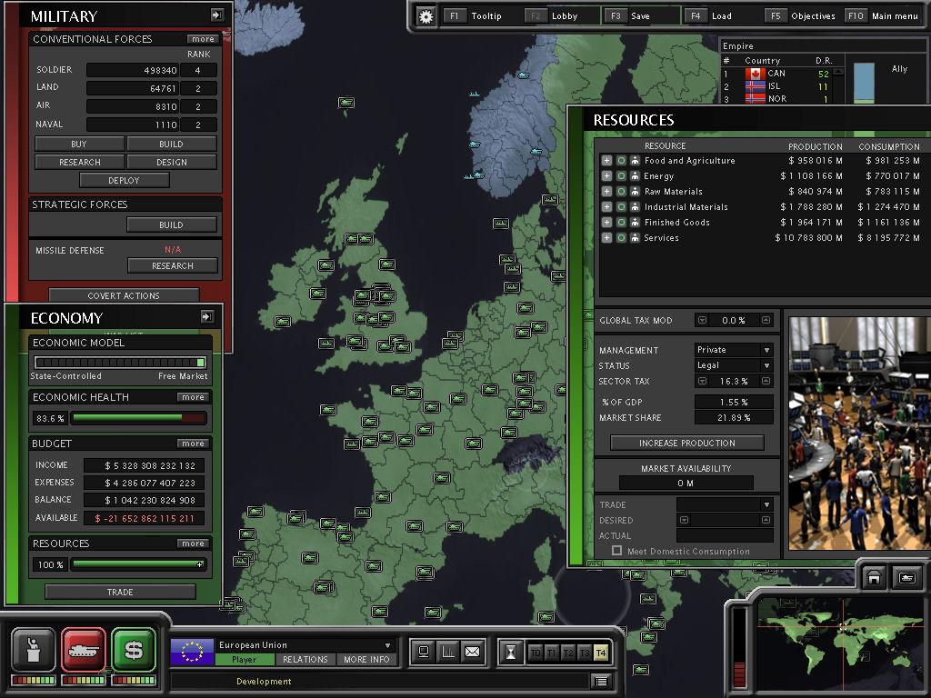 Superpower 2 Economy 101 tutorial - Mod DB