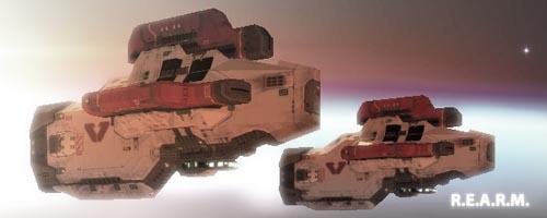 tripple laser corvette