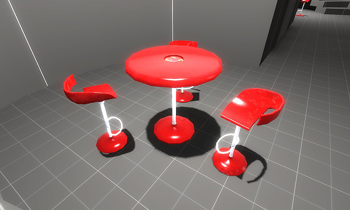 Ions and tables and chairs, oh my!