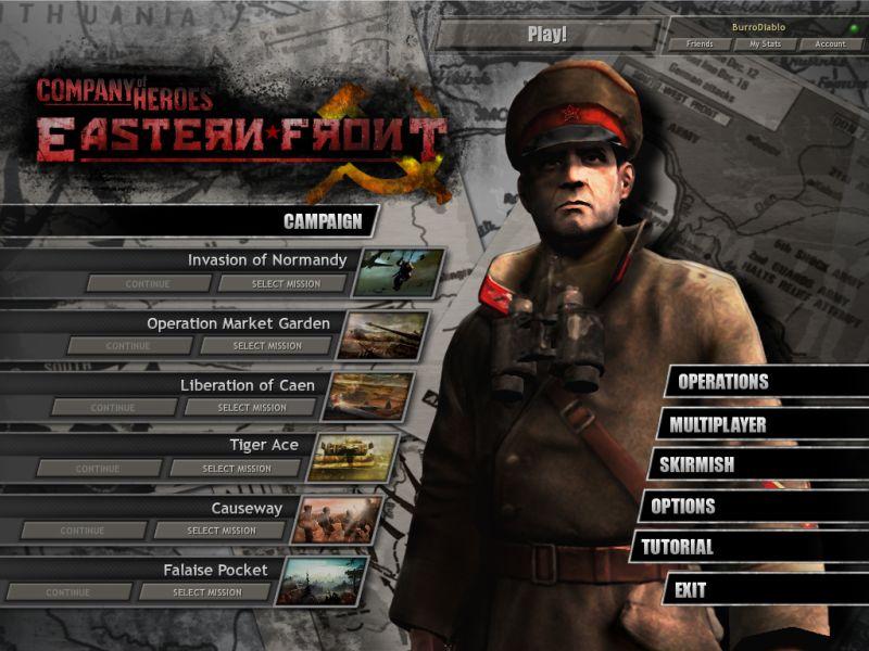 Мод company of heroes eastern front восточный фронт 2010.