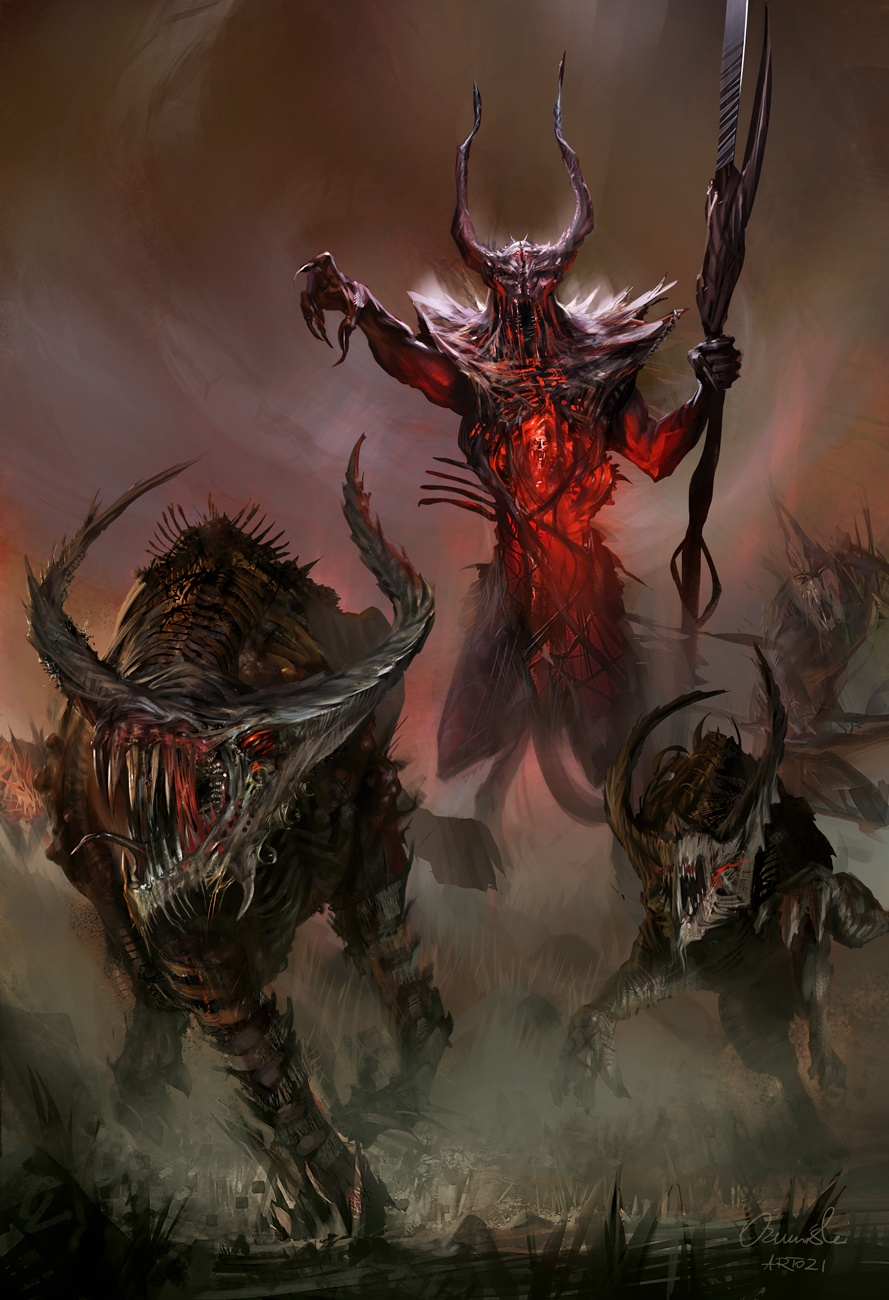 Presenting the Lord of Chaos news - Divinity 2 Concept Art