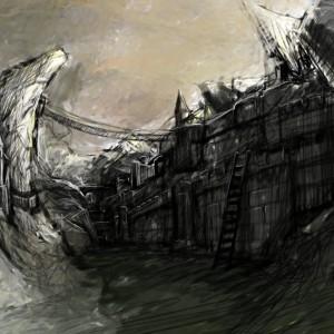 Kingdoms Collide - Early Landscape Concepts