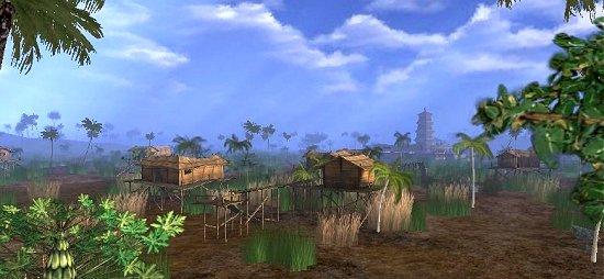 Scene from Xa Loi Pagoda