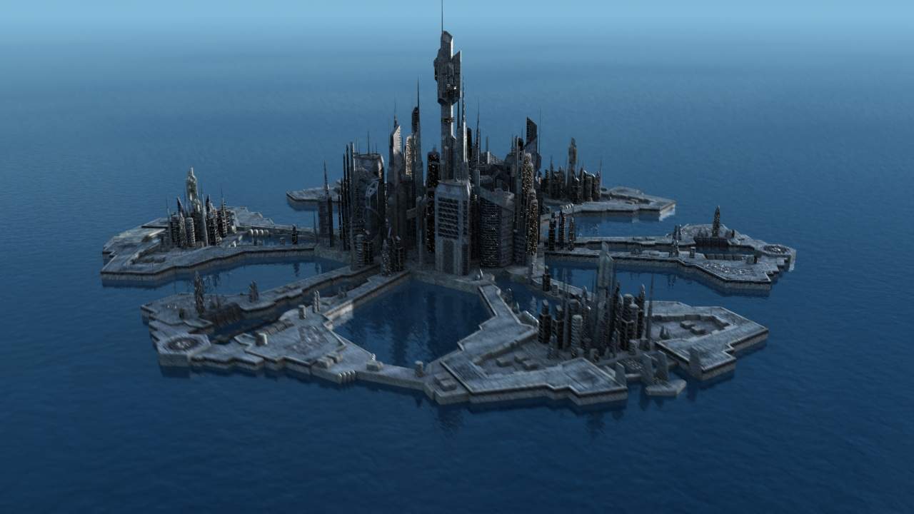 Atlantis Islands Dragon City