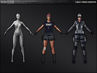Swat Female Concept