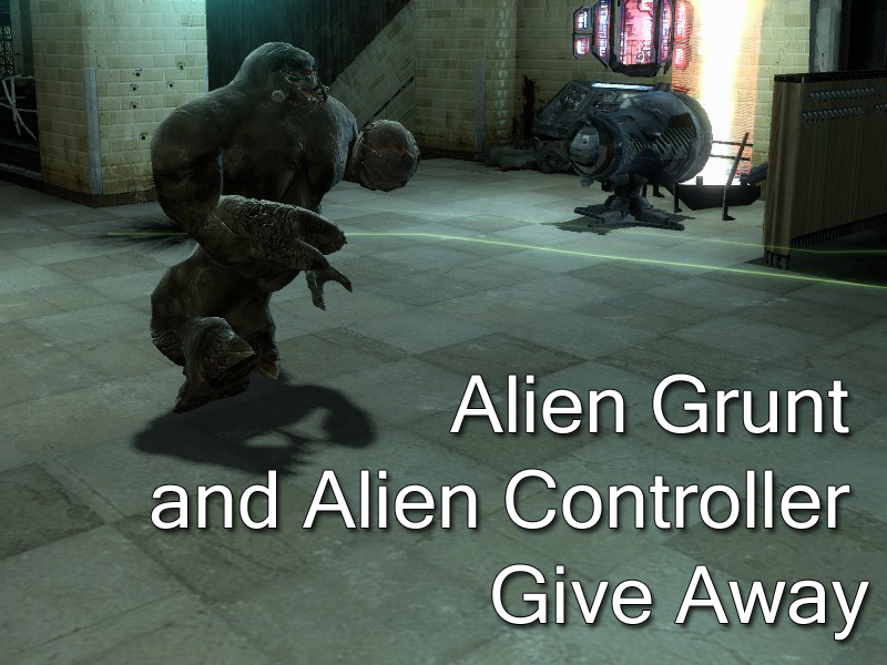 Alien Grunt and Alien Controller Give Away news - Human ...