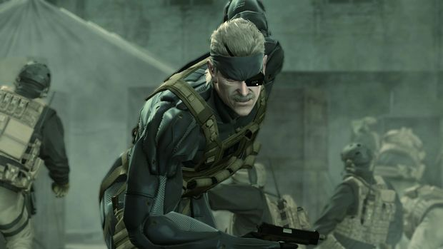 Metal Gear Solid 4 3d Models From Photographs