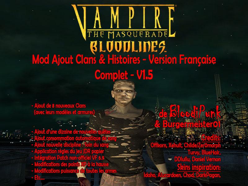 vampire the masquerade bloodlines clan quest mod 2.1