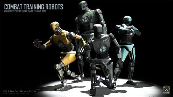 The Kokuro Combat Training Robot - Built for destruction!