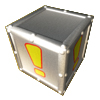 Armored Crate with Exclamation Point